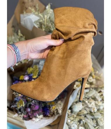 chaussure caramel